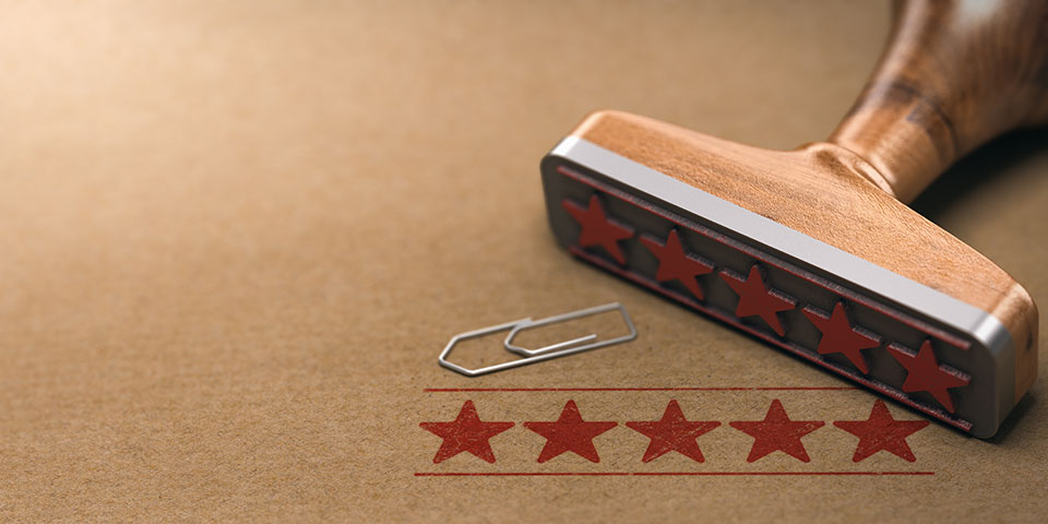 five stars customer quality review 46FELA5